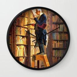 The Bookworm - Carl Spitzweg Wall Clock