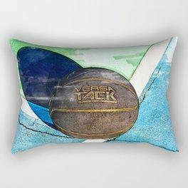 Basketball On Court Marker - For Basketball Lovers Rectangular Pillow