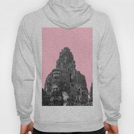 Angkor Wat with pink Hoody
