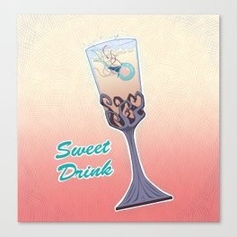 Sweet Drink Canvas Print