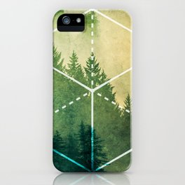 The Elements Geometric Nature Element of Earth iPhone Case