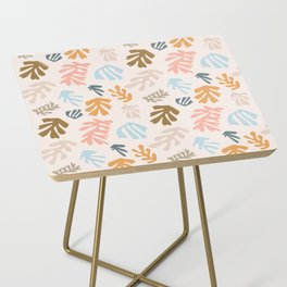 Seaweeds and sand Side Table