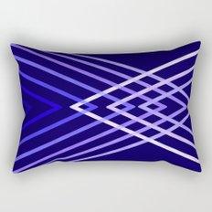 Energy in Blue Rectangular Pillow