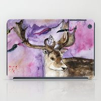 dreamcatcher iPad Cases featuring Dreamcatcher by Anna Shell