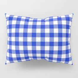 Plaid (blue/white) Pillow Sham