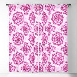 Candy Floss Mandala Blackout Curtain