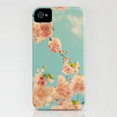 Splash of Pink iPhone (4, 4s) Slim Case