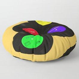 Vinyls Floor Pillow