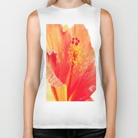 hibiscus Biker Tanks featuring Hibiscus by Lindzey42