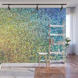 Glitter Rainbow Wall Mural