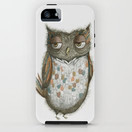 Harry the Owl iPhone Case
