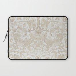 William Morris Vintage Lodden Antique Beige & Ivory Laptop Sleeve