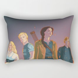 The Team Rectangular Pillow
