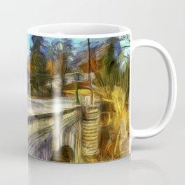 The Headless Horseman Bridge Van gogh Coffee Mug