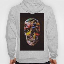 Hot Rod Skull Dark Hoody