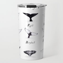Whales - By Size Travel Mug