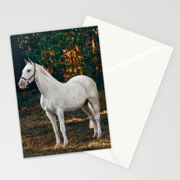 horse by Helena Lopes Stationery Cards