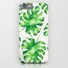 Monstera Leaves iPhone 6s Slim Case