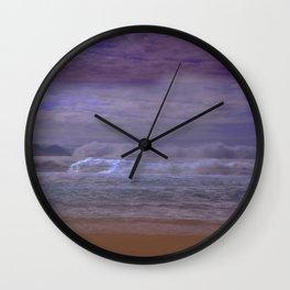 Midnight Ocean Wall Clock