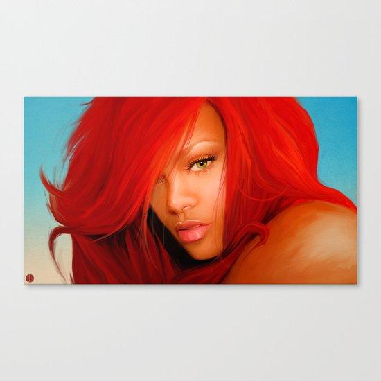 THEM SOFT LIPS Canvas Print