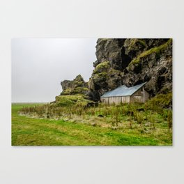 House in the Hill Canvas Print