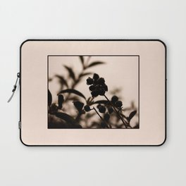 raindrops and hedge berries Laptop Sleeve