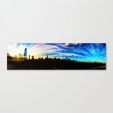 Chicago's Painted Sky Canvas Print