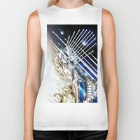 sci fi Biker Tanks featuring Sci-Fi Series 1 by eos vector