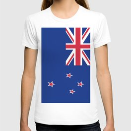 The Flag of New Zealand T-shirt