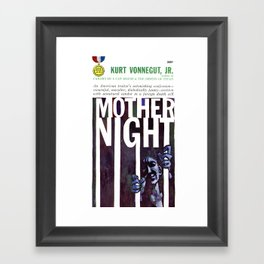 Vonnegut - Mother Night Framed Art Print