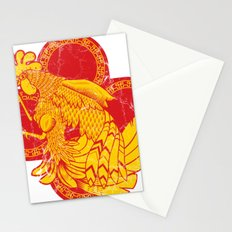 Rooter Red Stationery Cards
