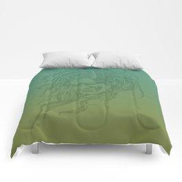 Japanese Oni Head Comforters