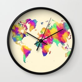 map 56 Wall Clock