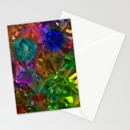 Colorful Crysal Stationery Cards