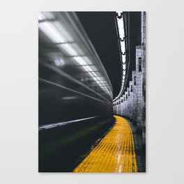The Subway (Color) Canvas Print