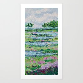 Marsh Romance Art Print