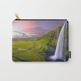 Seljalandsfoss, Iceland waterfall Carry-All Pouch