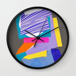 Magnetic content Wall Clock