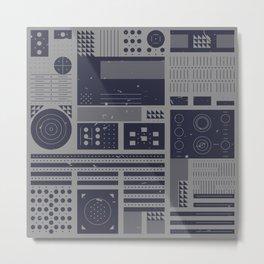 GEWERBLICH Metal Print