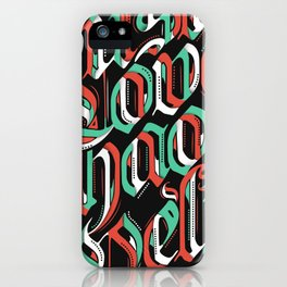 CHAOS - (color) iPhone Case