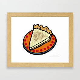 Hoosier Pie - Indiana Framed Art Print