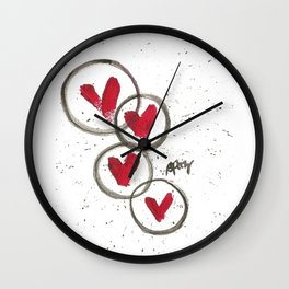 Love Connection Wall Clock