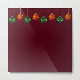 Christmas - The Best Time Of The Year Metal Print