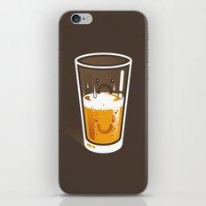 Pessimistic Optimist - alt version iPhone & iPod Skin