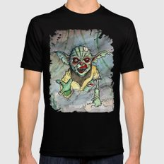 zombie i am Mens Fitted Tee Black 2X-LARGE