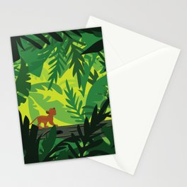 Lion King - Simba Pattern Stationery Cards