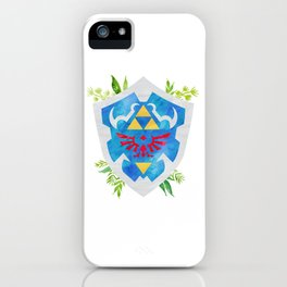 One Shield to Hyrule Them All iPhone Case