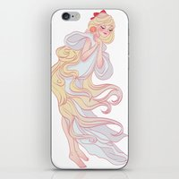 sailor venus iPhone & iPod Skins featuring Sailor Venus by Dixie Leota