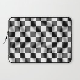 Chequered Flag Slight Ripple Laptop Sleeve