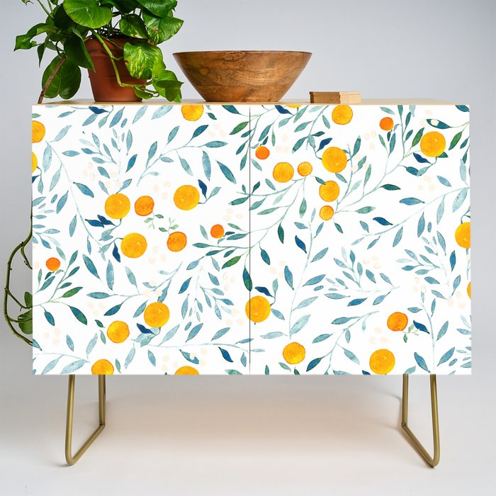 Orange Tree Credenza